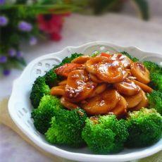 杏鲍菇扒西蓝花