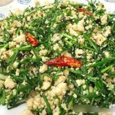 韭菜炒豆渣的做法