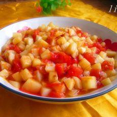 番茄土豆丁