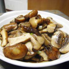 黑椒口蘑的做法