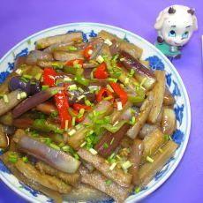 清炒茄子――下酒菜