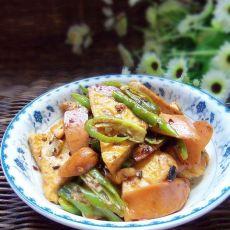 辣炒豆腐的做法
