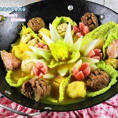 咖喱鱼丸火锅的做法