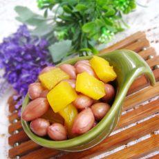 酸萝卜拌花生米的做法