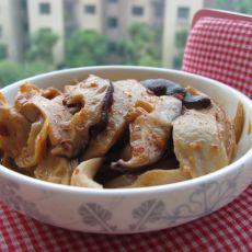 香菇炒面筋的做法