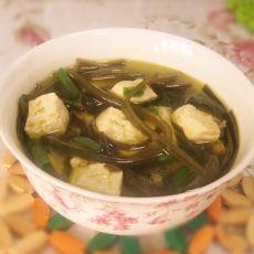 豆腐炖海带