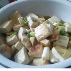 快炒豆腐的做法