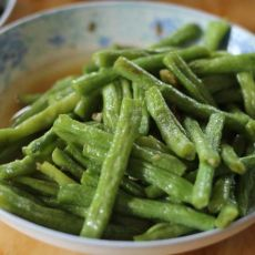 素炒绿豆角