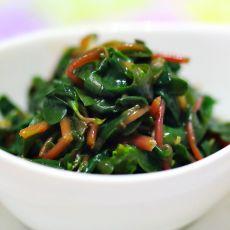 醋蒜汁马齿菜