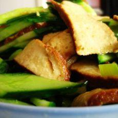 黄瓜炒豆干的做法