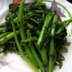 蒜蓉炒苋菜的做法