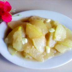 白油冬瓜的做法