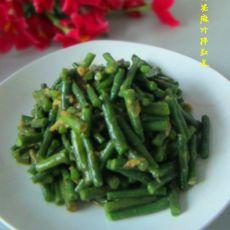 蒜泥麻汁拌豇豆