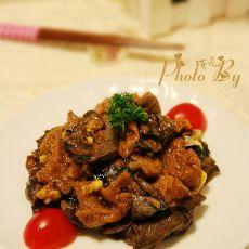 竹荪焖乌鸡肉