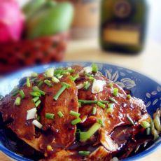 红烧豆豉鲳鱼