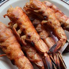 蒜蓉酱烤虾