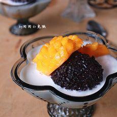 芒果白雪黑糯米