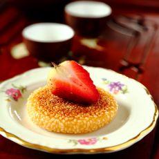 南瓜酒酿饼