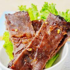 烤香辣牛肉干的做法