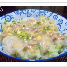 虾肉白菜卷