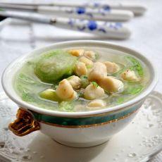 丝瓜贝丁汤的做法