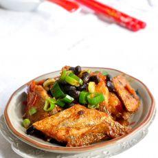 豆豉烧带鱼