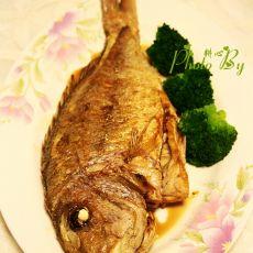 干煎红棕鱼