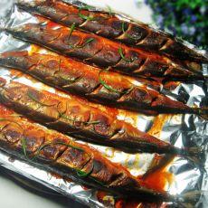 韩式烤秋刀鱼