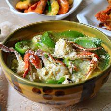 梭子蟹茄片汤的做法