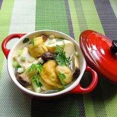 沙锅海鲜豆腐煲的做法