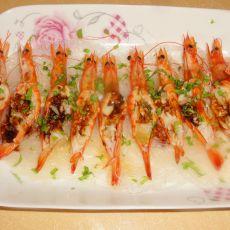 蒜蓉开边小海虾