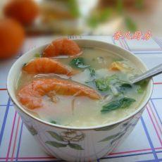 砂锅海鲜泡饭