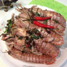 干煸濑尿虾