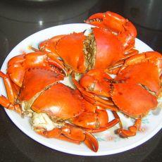 黄酒焖青蟹