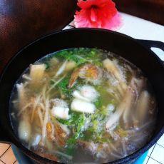 蘑菇海鲜火锅