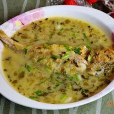 小黄鱼酸菜汤