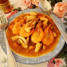 椰汁咖喱海鲜