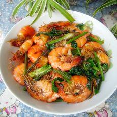 香菜虾仁的做法