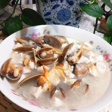 蛤蜊炖豆腐