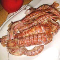 清蒸琵琶虾