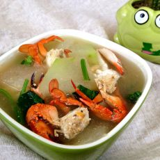 海蟹冬瓜汤