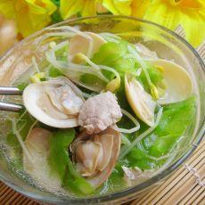 蛤蜊苦瓜豆芽