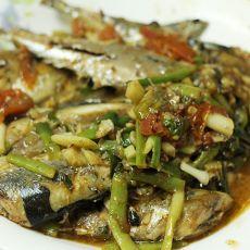 香焖秋刀鱼