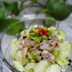 蛤蜊拍黄瓜的做法