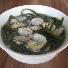 海带花蛤汤