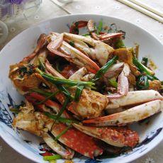 回锅香辣海蟹的做法