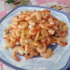 油爆小海虾