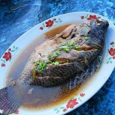 清炖海鲫鱼