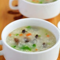 海参青菜粥