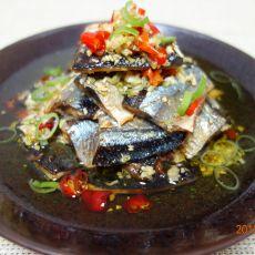 橄榄油秋刀鱼